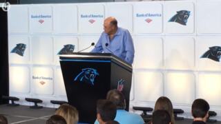 David Tepper, Panthers new owner, meets the Charlotte press