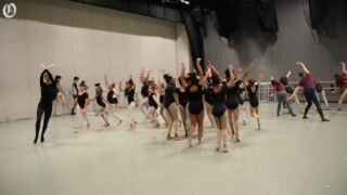 Dance students and professionals work together on Rite of Spring