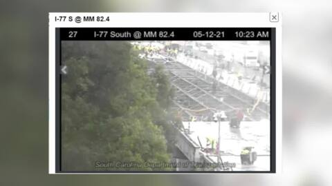 How rain impacts the I-77 bridge project