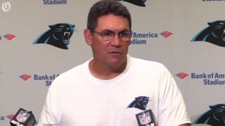 Ron Rivera looks forward to the start of the season at home