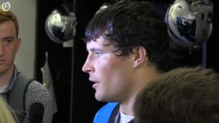 Luke Kuechly scouts the Cowboys