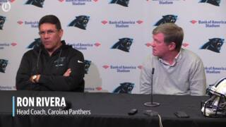 Marty Hurney and Ron Rivera talk about being on the same page