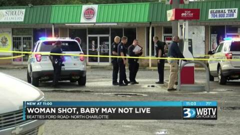 Charlotte shooting leaves teenager, baby with life-threatening injuries, police say