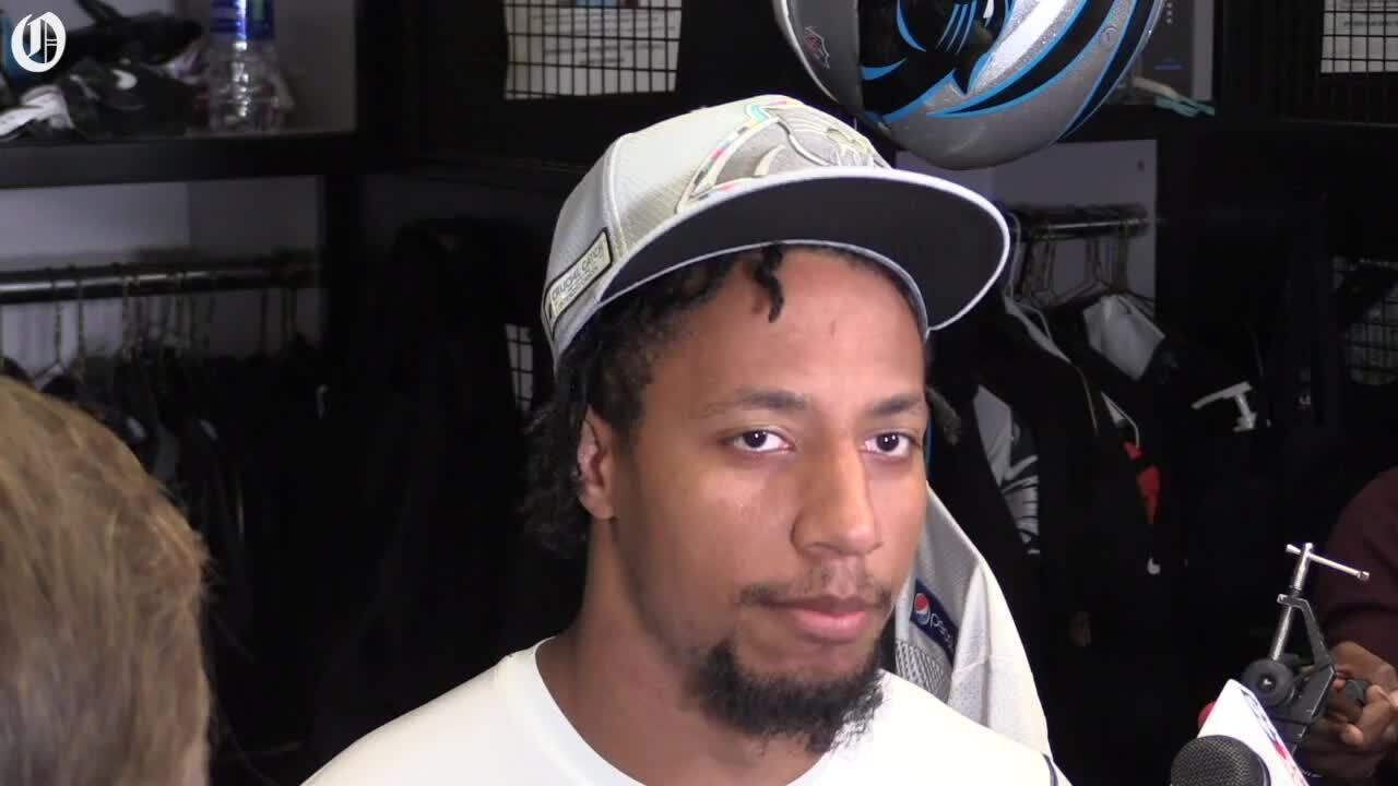 Whatever Jay-Z is selling, Carolina Panthers safety Eric Reid isn't buying