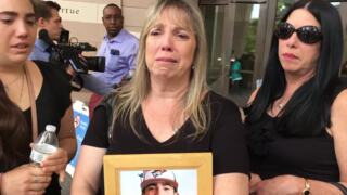 Mother of slain college baseball player speaks out