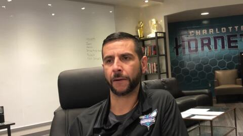 James Borrego on how 2nd Charlotte Hornets season will be different.