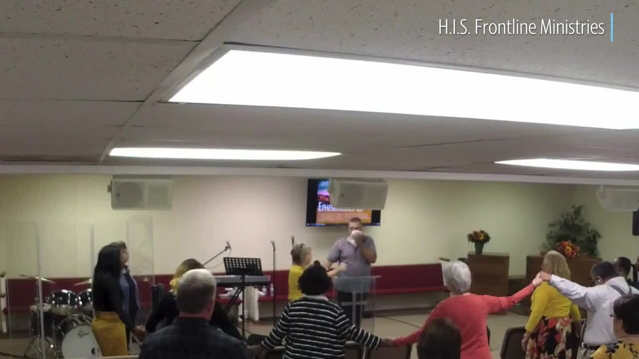 NC man grabbed the preacher, arrested after stripping