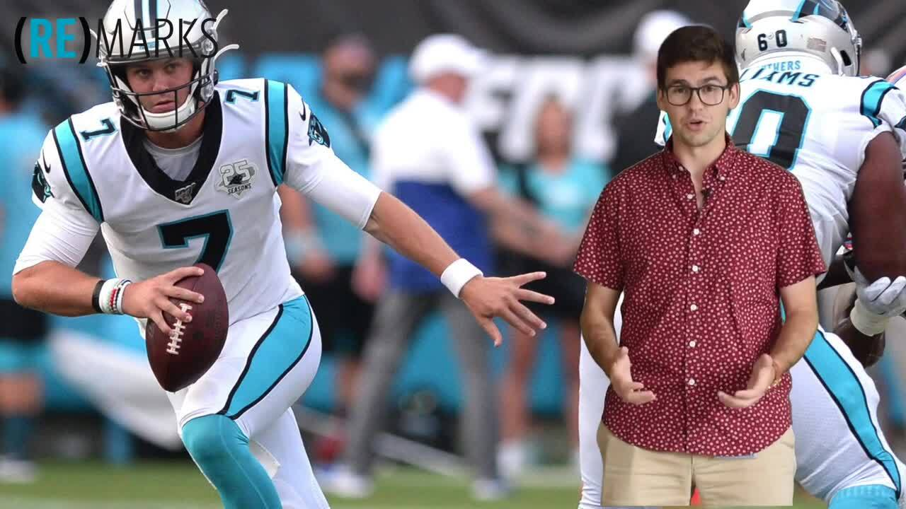 Panthers offense shows no signs of improvement in preseason loss to Patriots