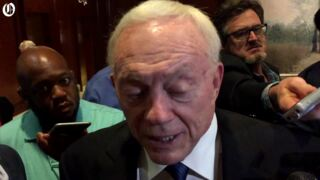 Jerry Jones speaks to contributions of Jerry Richardson to league