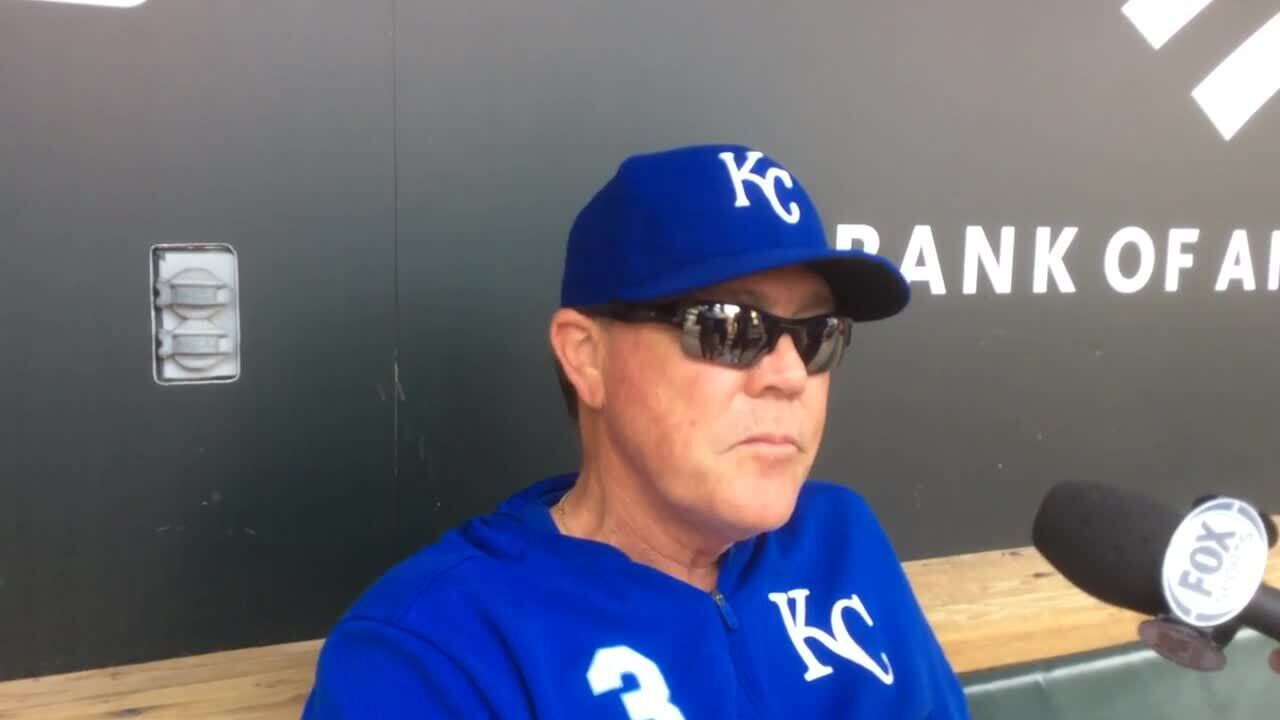 Royals' Danny Duffy encouraged after latest simulated game; Soler moves in lineup