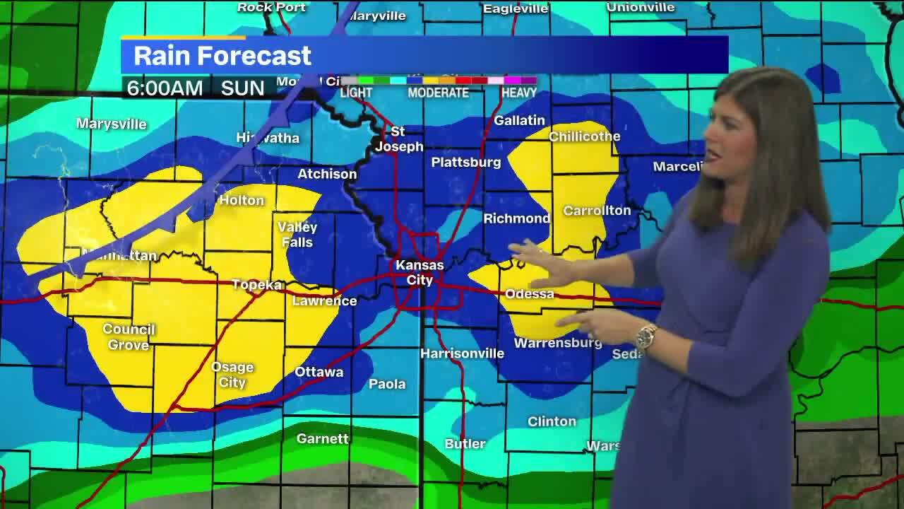 Rain in forecast for Chiefs game Sunday as storms roll through KC area this weekend