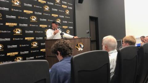 Mizzou coach Barry Odom speaks before Ole Miss game