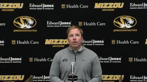 Missouri coach Eliah Drinkwitz on Tigers' 41-0 win over Vandy, Sarah Fuller making history