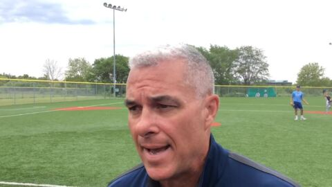 Dayton Moore discusses Royals camp at the Jewish Community Center