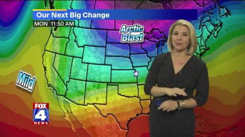 Your Kansas City forecast: warmer weather this weekend, arctic blast on Monday