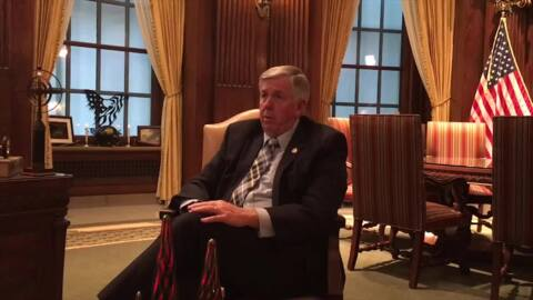 Parson, with hedge, open to bringing LGBT Missourians under anti-discrimination law
