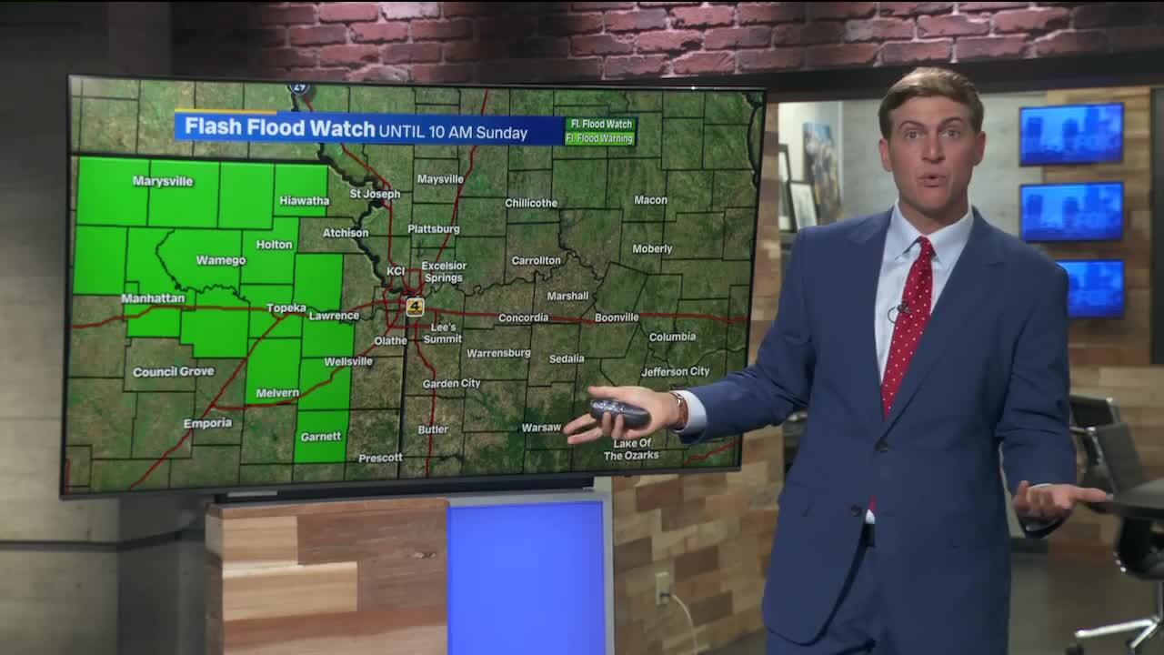 'Not done yet': Another round of storms expected overnight in Kansas City