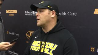 Barry Odom after spring practice on the Tigers' new offense