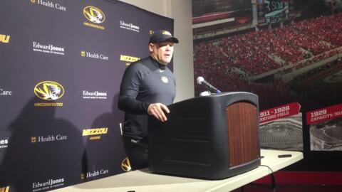 Barry Odom and Missouri can't get much going against Georgia
