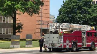 Raw video: Two deputies shot at Wyandotte County courthouse