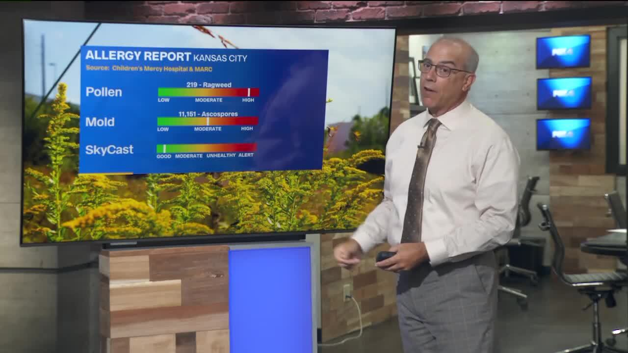 Forecast calls for cooler weather in Kansas City through the weekend