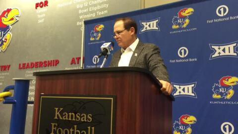 KU coach Les Miles on new OC Dearmon's 'fresh approach'