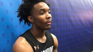 KU's Devonté Graham talks about virtual-reality test at NBA Combine