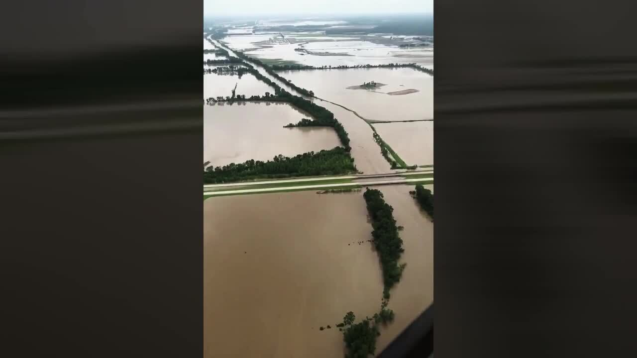 River flooding closes highways at Chillicothe, Missouri | The Kansas