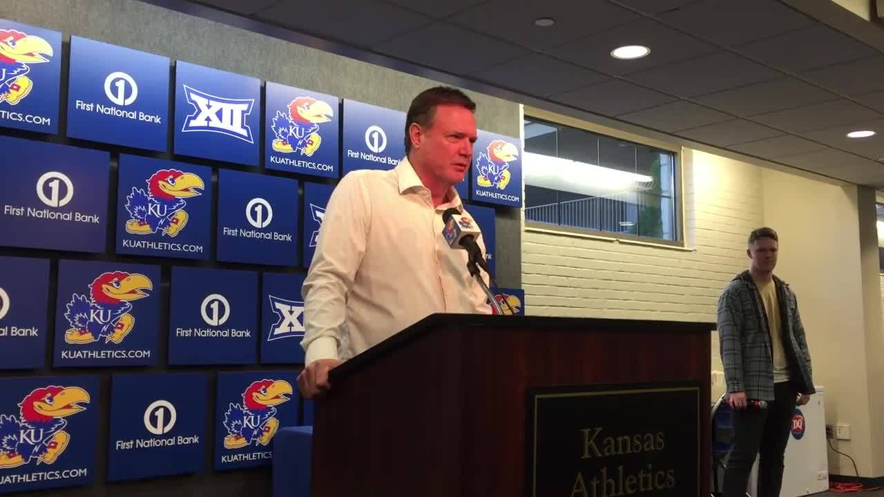 Bill Self has never taught defense like this before. What KU's new change looks like