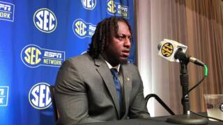 Terry Beckner Jr. at SEC Media Days