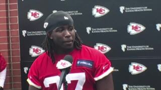 'Getting a ring, that's what drives me,' says Chiefs running back Kareem Hunt