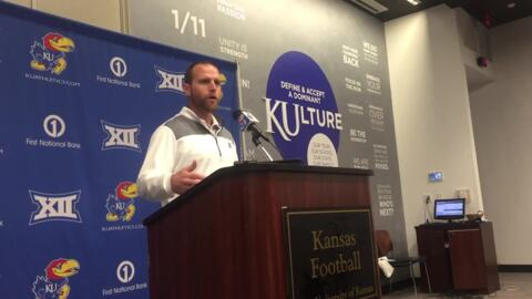 Brent Dearmon on new KU offense: 'Everybody knows that I run a few RPOs'