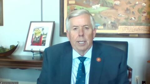 Missouri Gov. Mike Parson talks COVID-19, vaccines and unemployment claims