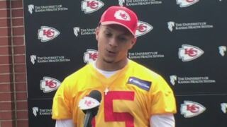 Chiefs quarterback Patrick Mahomes on his 'Pattycakes' nickname