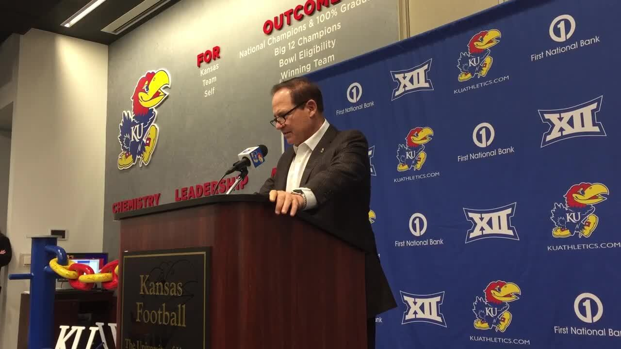 Grades from KU football's 31-13 loss to Oklahoma State and looking ahead to Iowa State