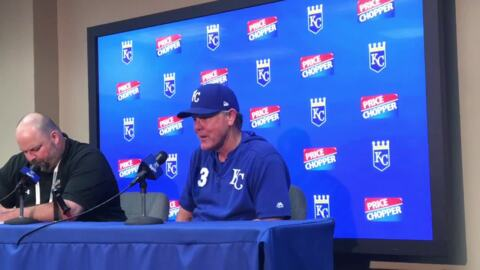 Royals manager Ned Yost: 'We're striking out a bunch'