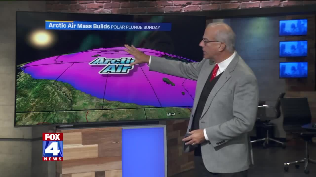 Weekend will start out warm in KC. It'll end with an 'arctic blast,' forecast says