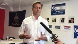 Tom Niermann accuses Republican Kevin Yoder of meddling in primary