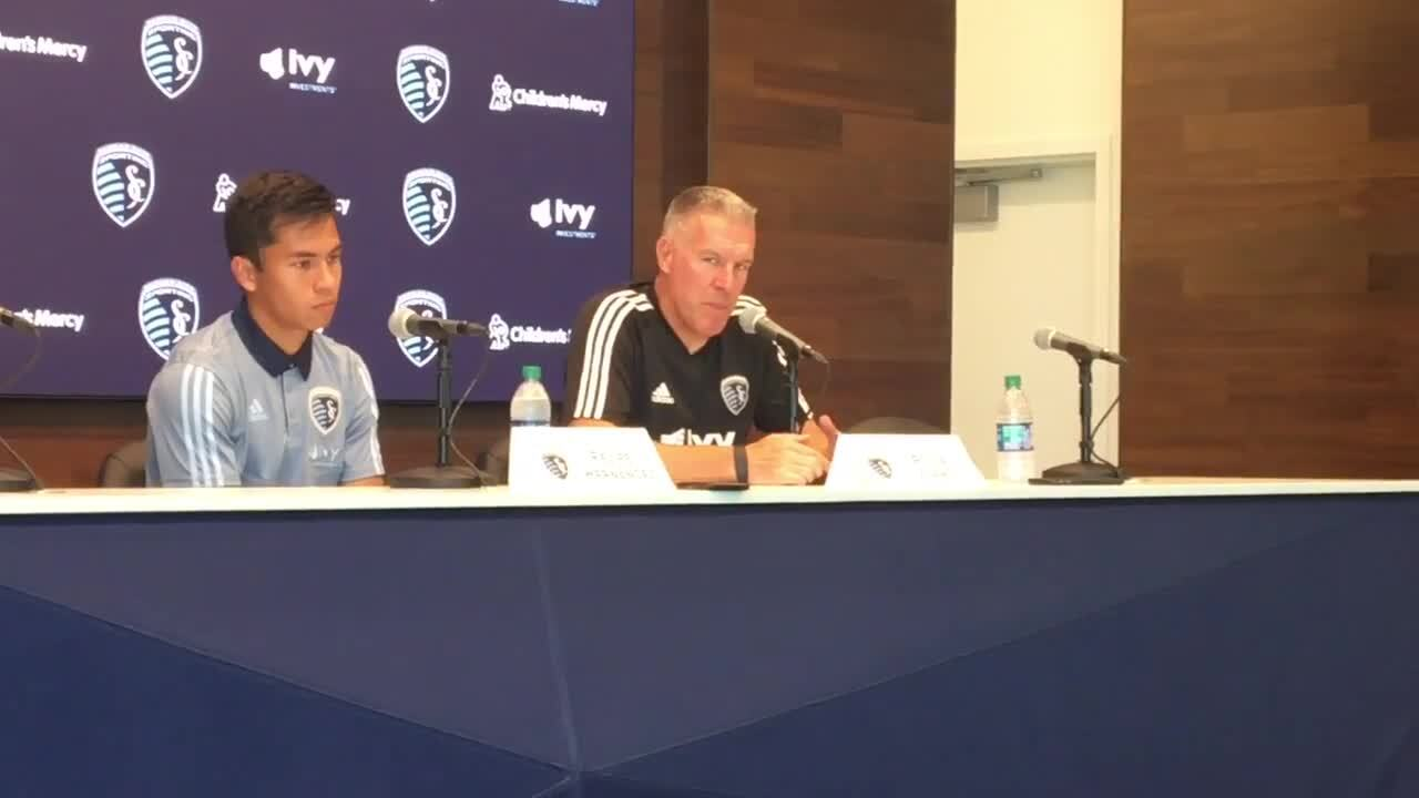 How patience sparked Felipe Hernandez's opportunity with Sporting KC