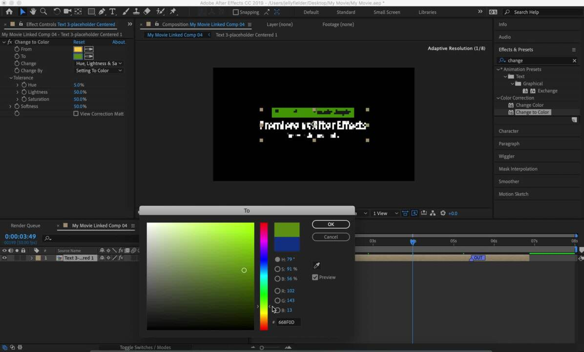 adobe dynamic link premiere to after effects not working
