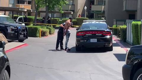 Robbery suspect arrested near Fresno State