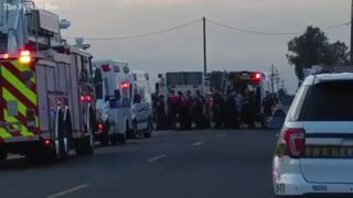 Man who was pulled out of canal goes to hospital