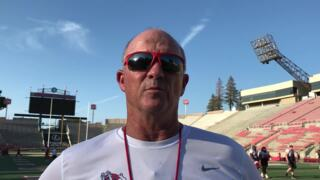 Tedford, two week countdown on two position groups