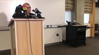 """Fresno State news conference about professor's Barbara Bush """"racist"""" tweet"""