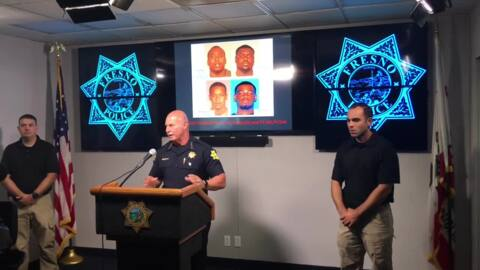 Chief Dyer announces two arrests in shooting of boy, 5