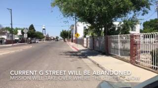 G Street relocation for high-speed rail and Fresno Rescue Mission