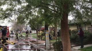 Fire in Fresno damages four apartment units