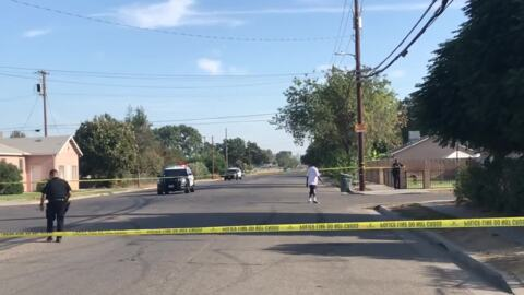 Drive-by shooting in southwest Fresno