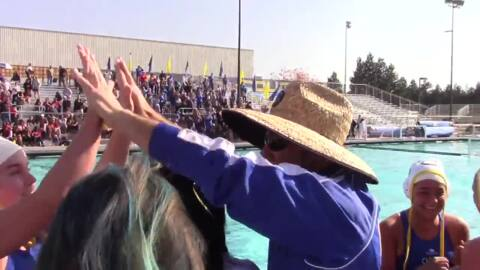 A three-peat for Clovis High girls water polo