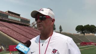 Tedford recaps Bulldogs' first fall camp scrimmage
